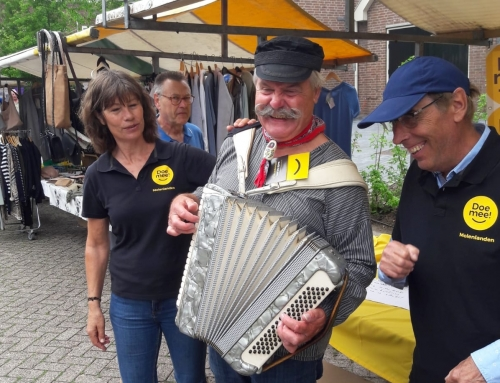 Zaterdagochtend 16 juni – Doe mee! in Giessenburg